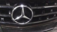 Mercedes Front Grill Star
