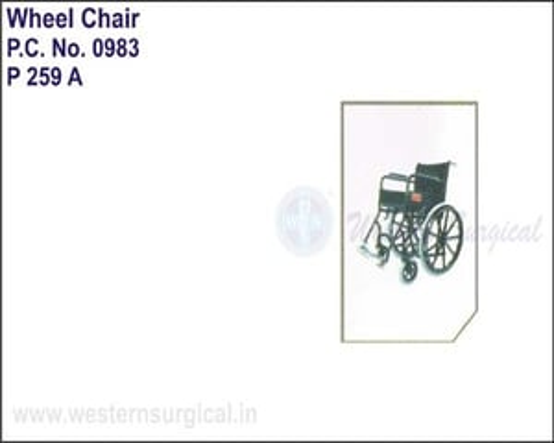Black Magic Wheel Chair