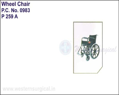 Black Magic Wheel Chair