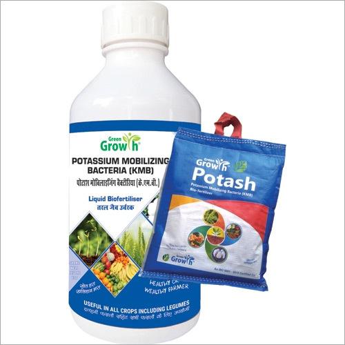 Potassium Mobilizing Bacteria (KMB) Liquid Biofertilizer