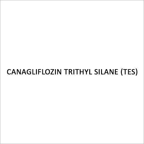 Canagliflozin Trithyl Silane (TES) Intermediate