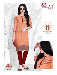 BALAJI BRAND  STYLISH COTTON KURTIS