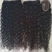 Steam Processed Virgin Curly Human hair