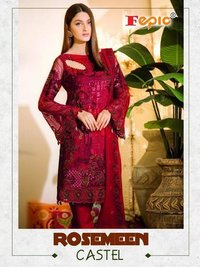 FEPIC BRAND  DESIGNER PAKISTANI STYLISH SALWAR  SUITS