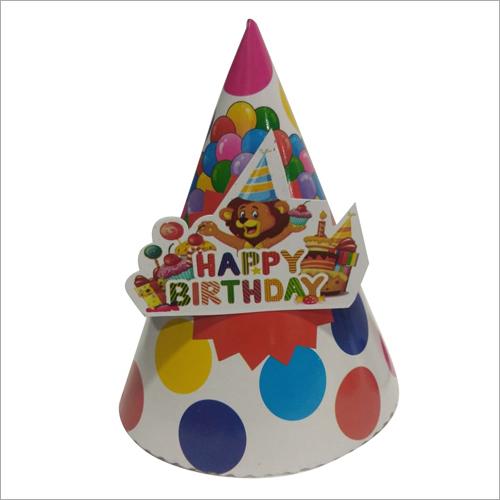 Printed Birthday Cap Application: Party Purpose