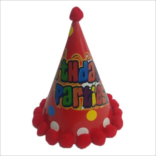 Boys Printed Birthday Cap Application: Party Purpose
