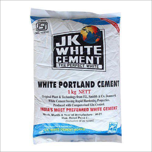Industrial JK White Cement