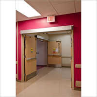Automatic Fire Rated Door