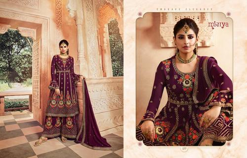 NEW BRANDED  HEAVY GEORGETTE ANARKALI  SALWAR SUITS