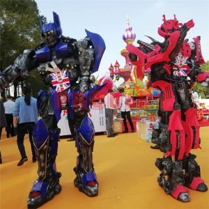 Hot Sale Robot Model Transformer Coat Rides Apply for Amusement Parks, Commercial Complexes