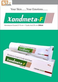 Mometasone Furoate 0.1%w/w + Fusidic Acid 2%w/w cream