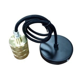 Silicone light socket with cable