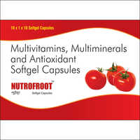 200mg MULTIVITAMINS, MULTIMINERALS AND ANTIOXIDANT SOFTGEL CAPSULES