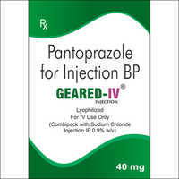 40 mg PANTOPRAZOLE FOR INJECTION BP