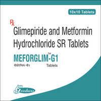 METFORMIN-500MG + GLIMEPRIDE-1 mg
