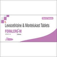 LEVOCETRIZINE-5 mg + MONTELUKAST-10mg