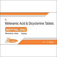 MEFENAMIC ACID-250mg + DICYCLOMINE-10mg