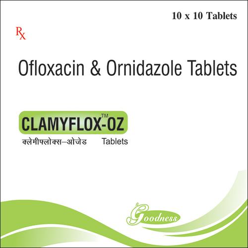 OFLOXACIN-200mg + ORNIDAZOLE-500mg