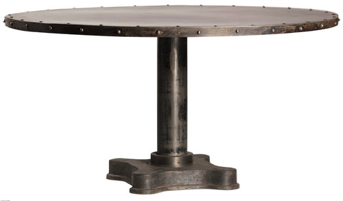 iron round table