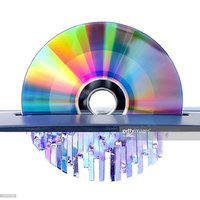 Automatic CD shredder machine