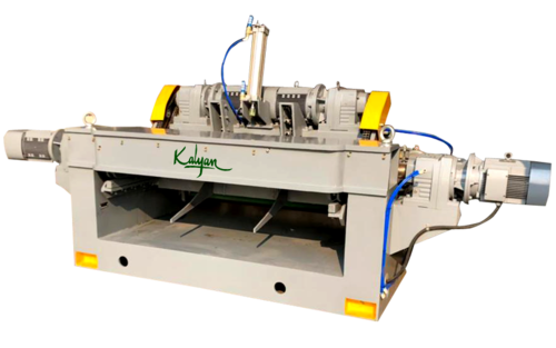 HIGH SPEED HEAVY DUTY SPINDLELESS ROTARY PEELING MACHINE (1300-HBZ / DD)