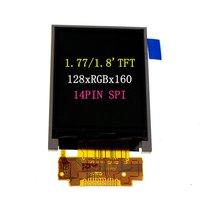 1.77/1.8 TFT 128X160 RGB 14PIN