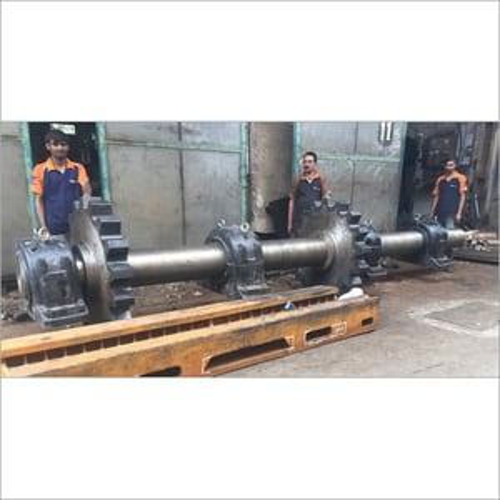 Heavy Duty Sprocket and Shaft Assembly