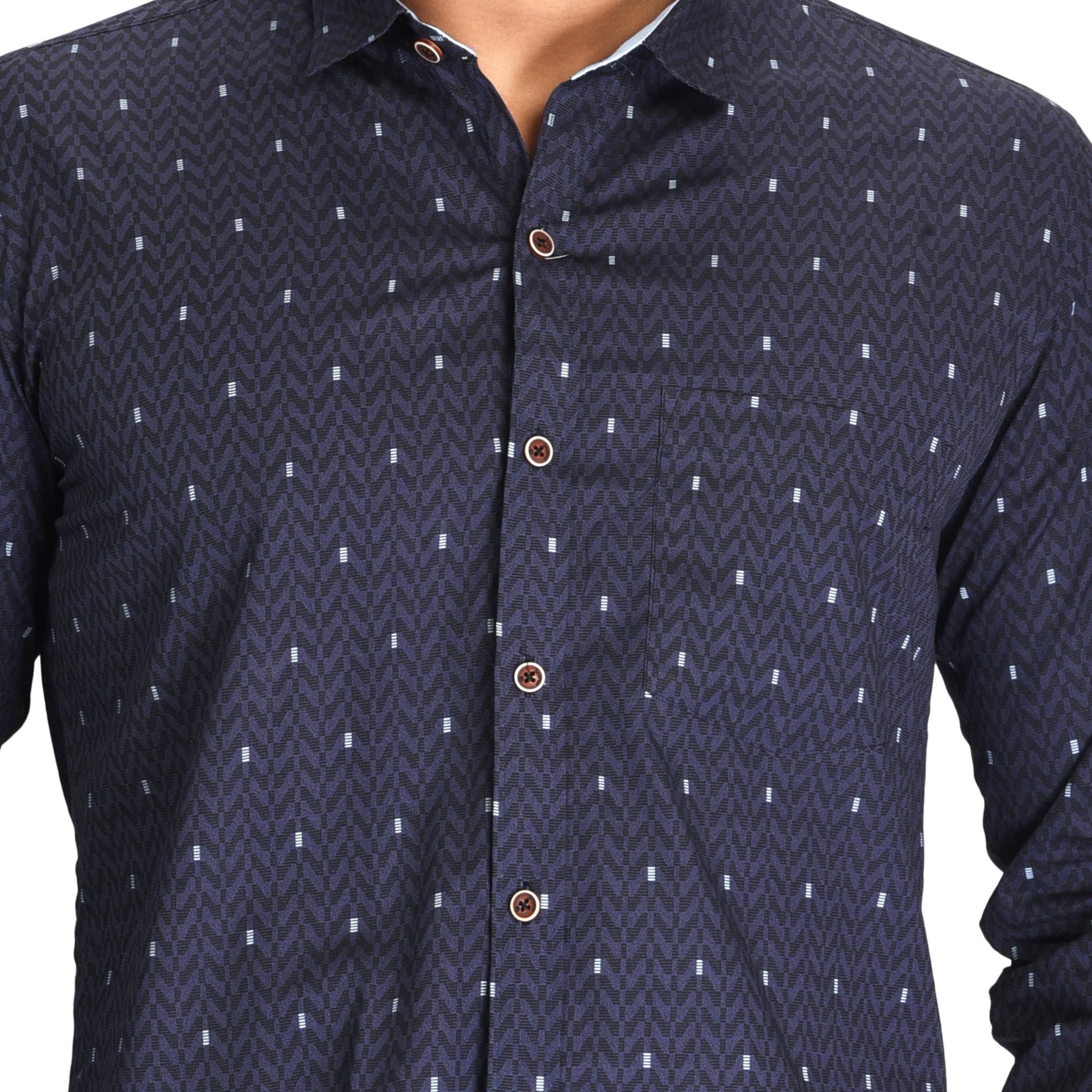 Mens Formal Check Shirt