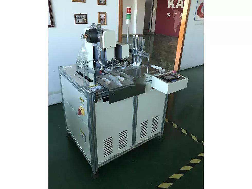 KV-230 Automatic tag drilling eyelet machine