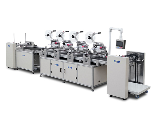 GYJ-820 Automatic four headers RFID labeling machine