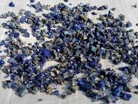 wholesaler of semi- precious blue lapis lazuli crushed stone chips
