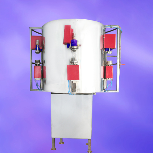 Rotary Five Head Soda Filling Machine