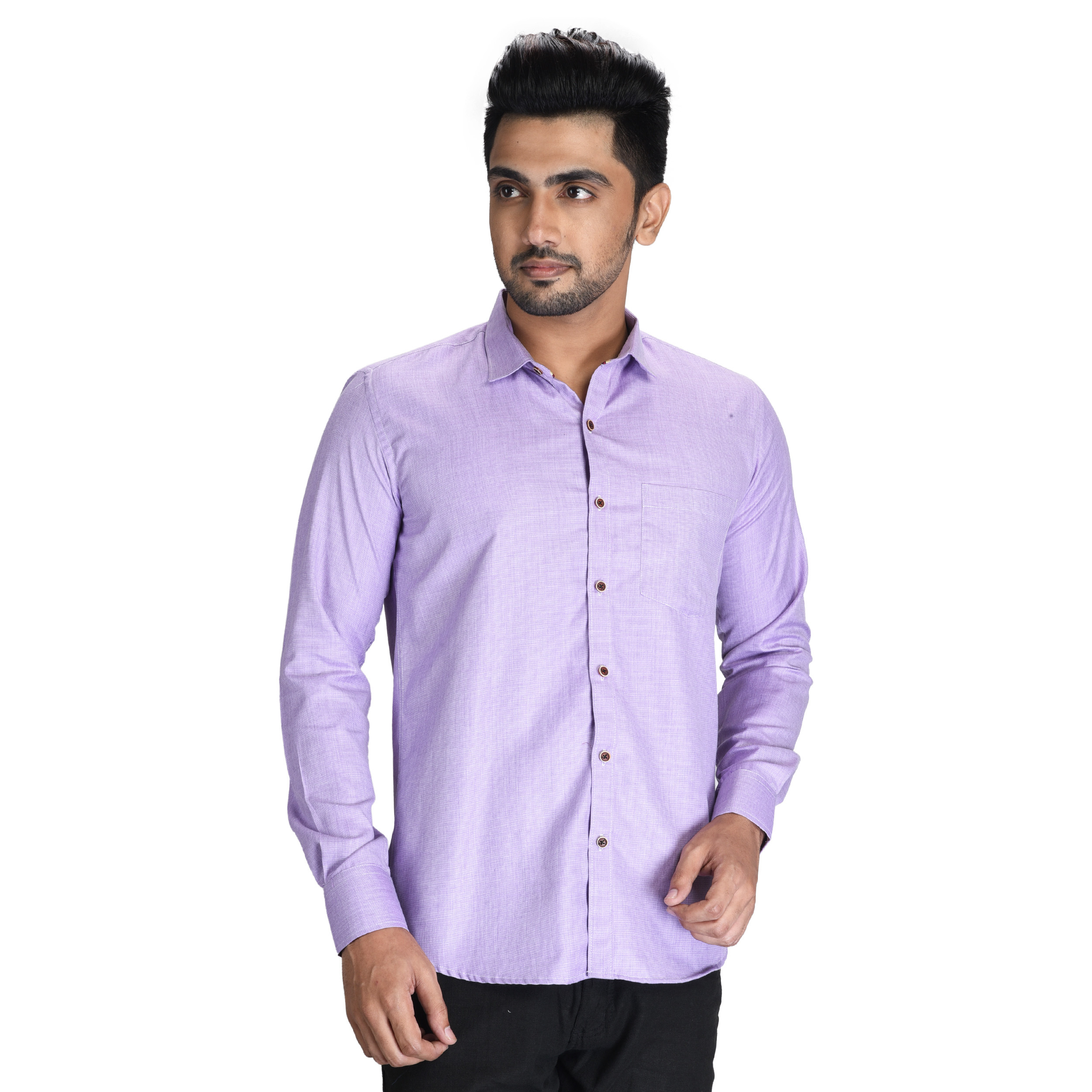 Mens Printed Fancy Shirt