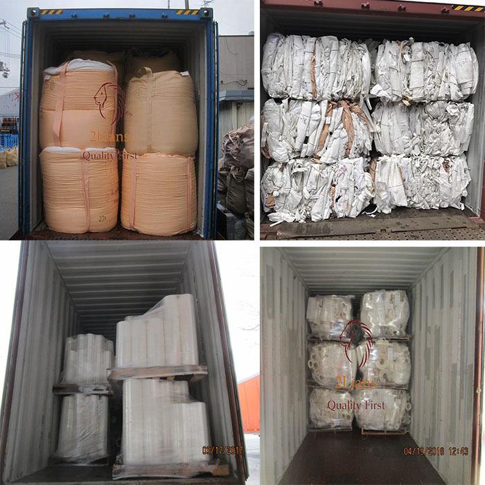 PP Jumbo Bag Reusable pp bags scrap polypropylene waste