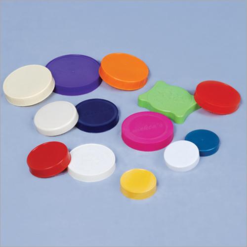 Multicolored Plastic Jar Cap