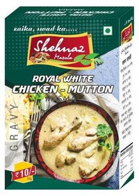 ROYAL WHITE CHICKEN-MUTTON MASALA