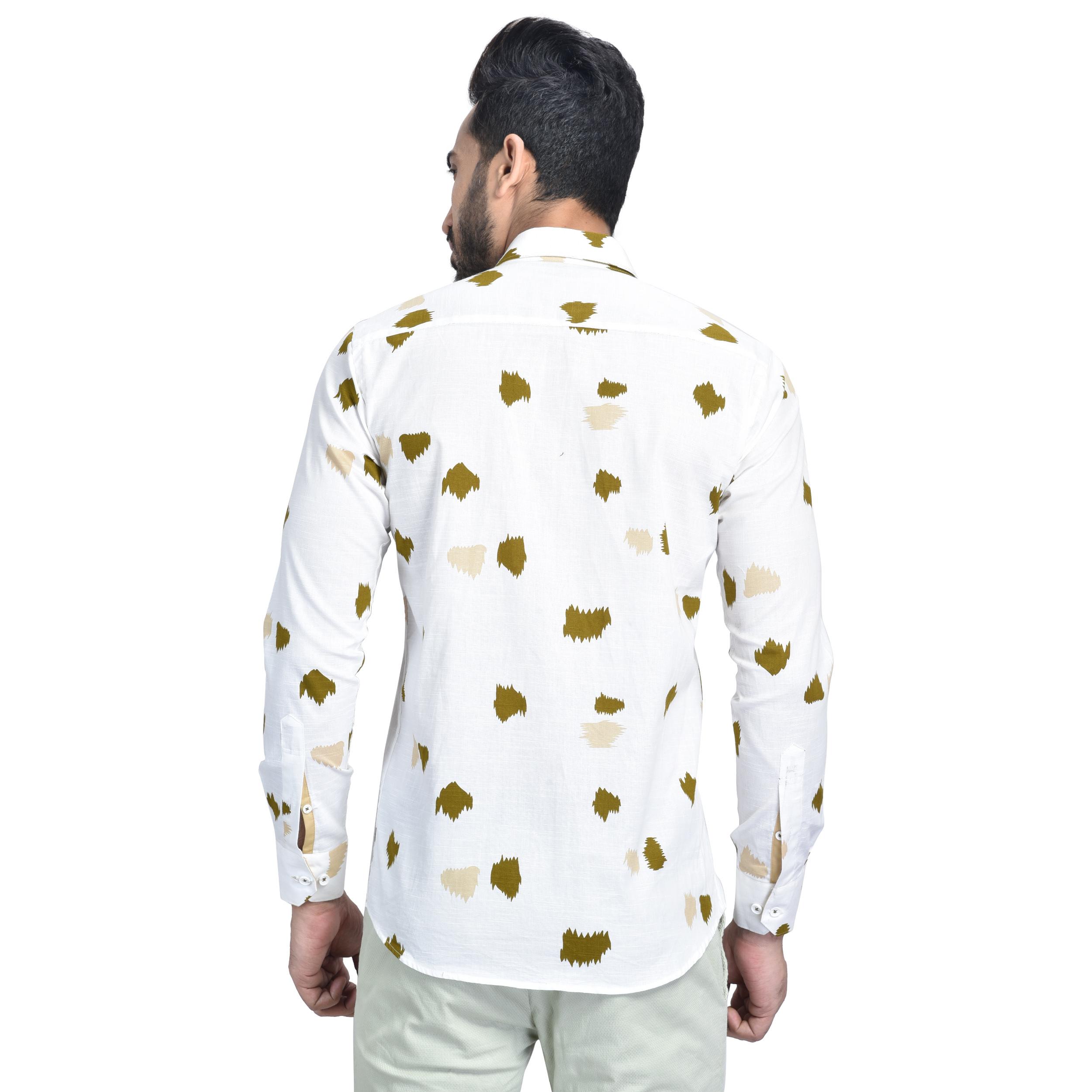 Mens Printed Partywear Shirt