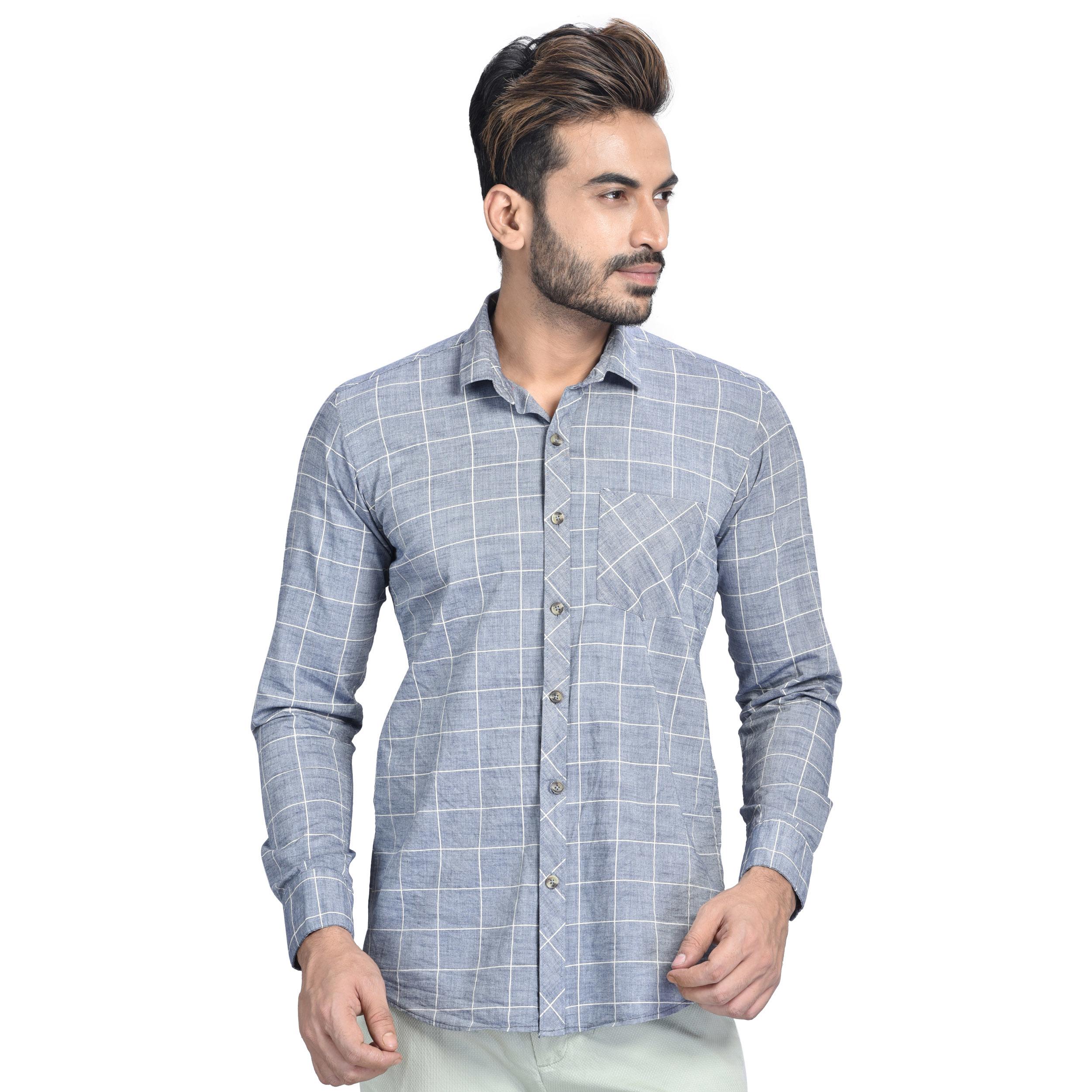 Mens Flower Design Shirt