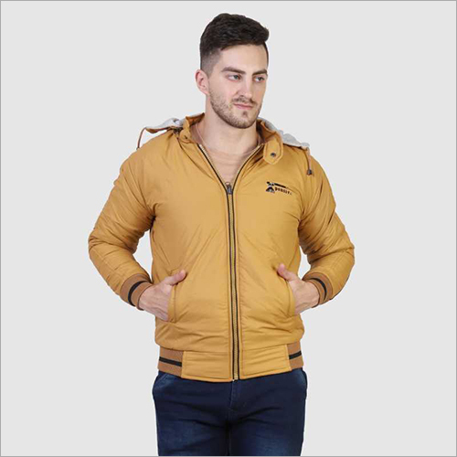 Mens Tan Color Winter Jacket
