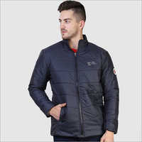 Mens Half Collar Winter Jacket