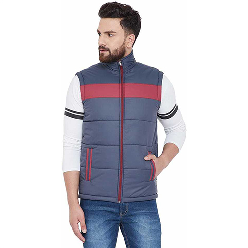 Mens Sleeveless Winter Jacket