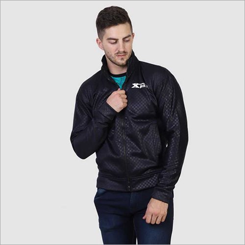 Mens Black Zipper Jacket