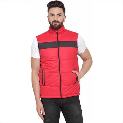 Mens Sleeveless Colorblock Jacket