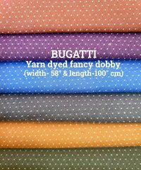 Bugatti yarn dyed fancy dobby