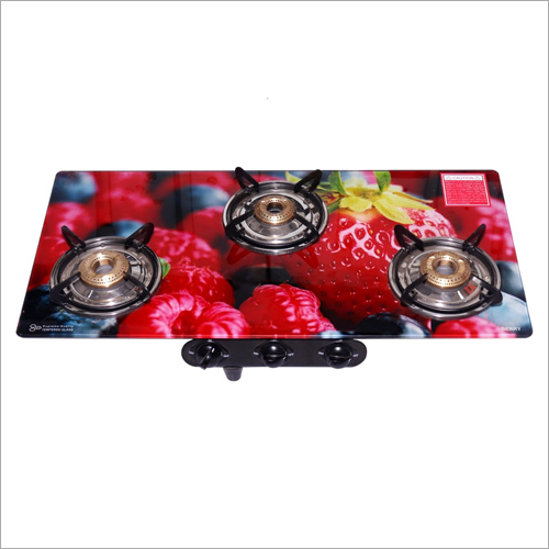 Digital Printed Top 3 Burner Gas Stove
