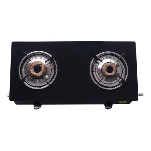 Glass Top Two Burner Gas Stove