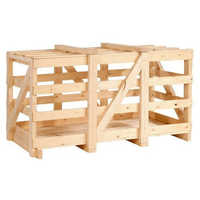Industrial Wooden Crate