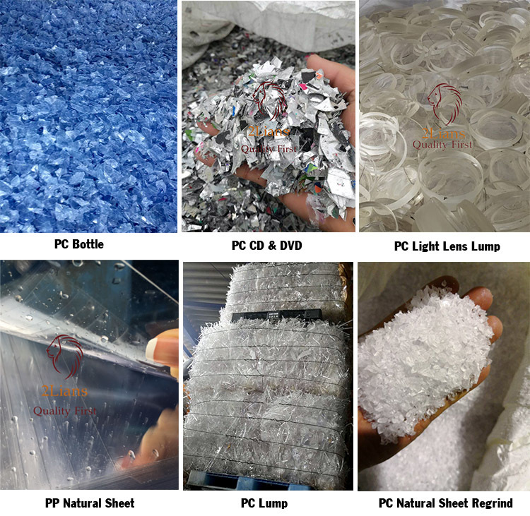 Polycarbonate (PC) Natural Regrind
