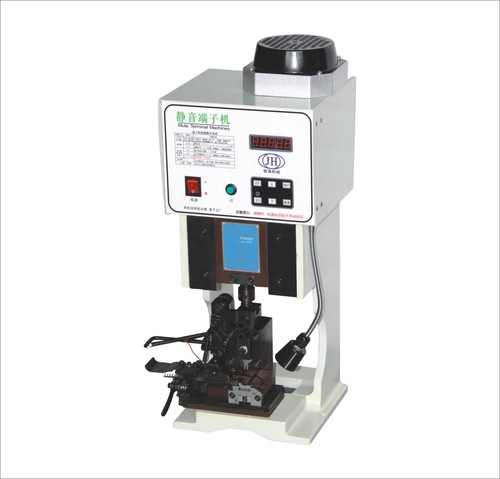 semi automatic wire terminal crimping machine