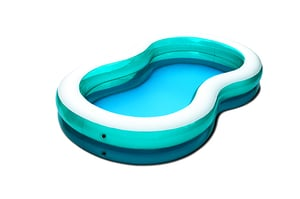 Swim Center Paradise Inflatable Pool, 105in X 65in X 18in, for Ages 3+